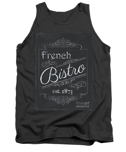 Tank Top featuring the painting Le Petite Bistro 4 by Debbie DeWitt