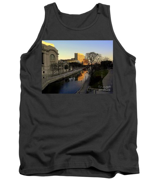 Tank Top featuring the photograph Le Rideau, by Elfriede Fulda