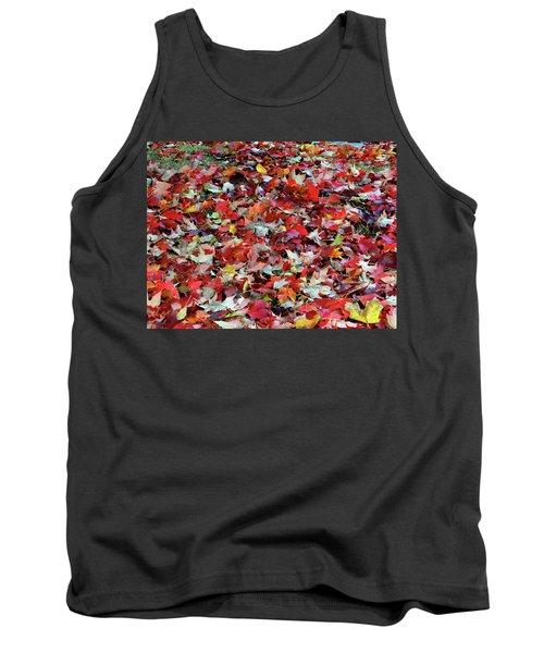 Leaf Pile Tank Top