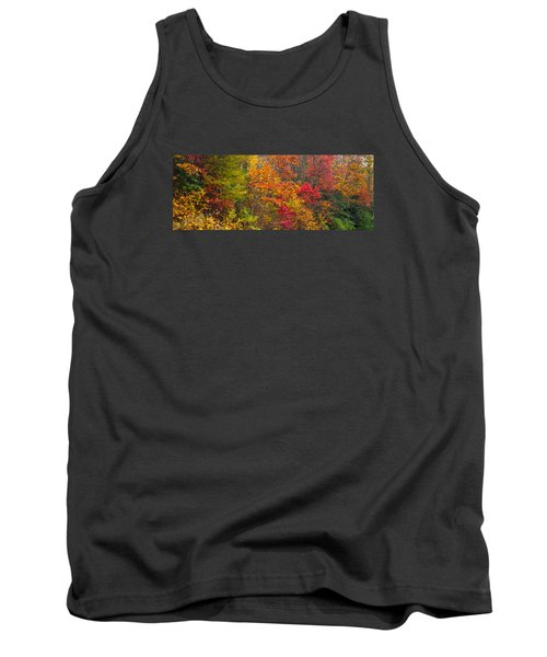 Leaf Tapestry Tank Top by Rob Hemphill