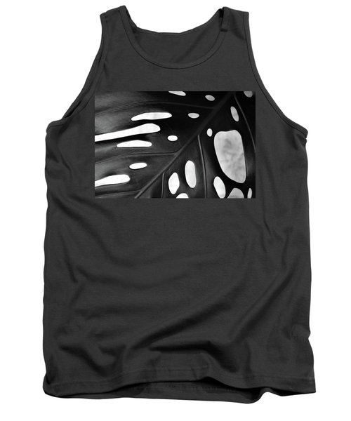 Leaf With Holes Tank Top