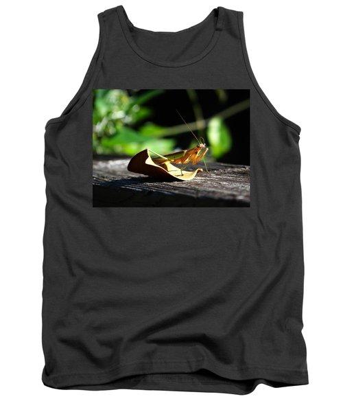 Leafy Praying Mantis Tank Top