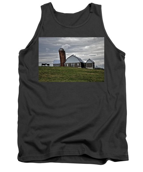 Tank Top featuring the photograph Lean On Me by Robert Geary
