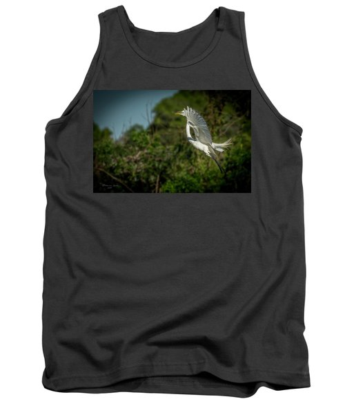 Tank Top featuring the photograph Leap Of Faith by Marvin Spates