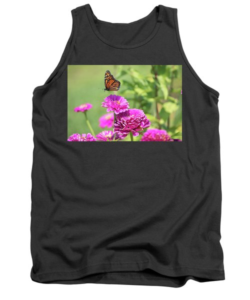 Leaping Butterfly Tank Top