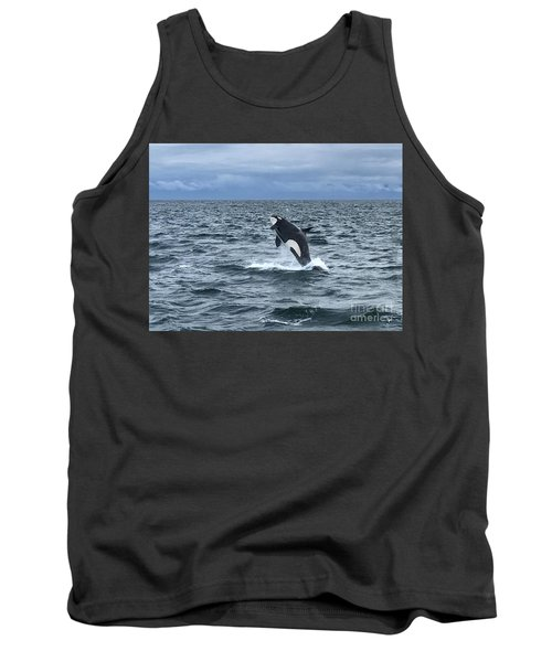 Leaping Orca Tank Top