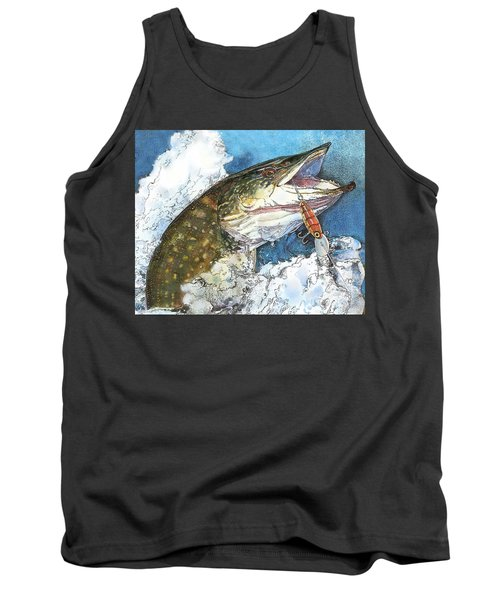 leaping Pike Tank Top