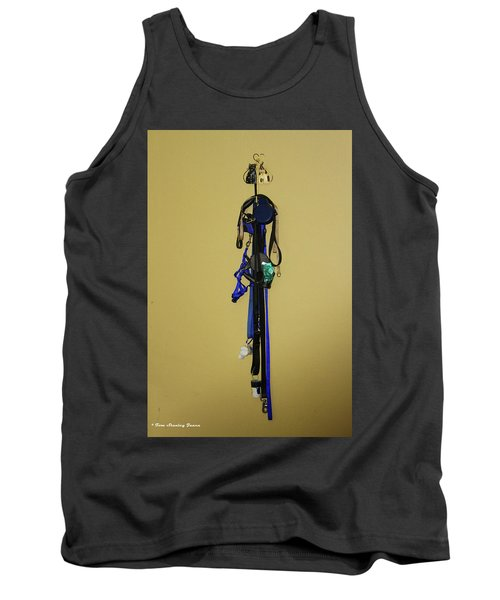 Leash Lady Just Hanging On The Wall Tank Top