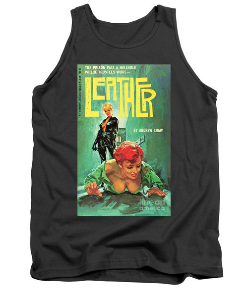Tank Top featuring the painting Leather by Robert Bonfils