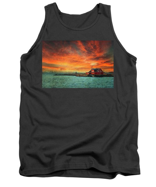 Leave The Light On Tank Top