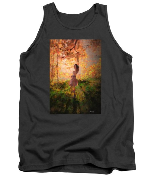 Tank Top featuring the photograph Leave The Past by Rose-Maries Pictures