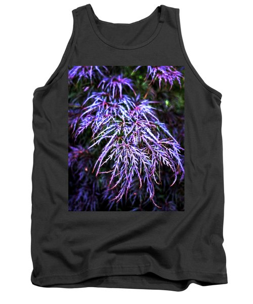 Leaves In The Light Tank Top