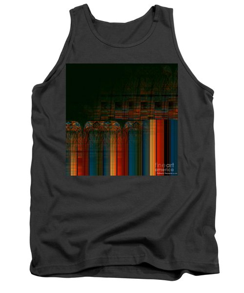 Leaving Darkness Tank Top by Thibault Toussaint