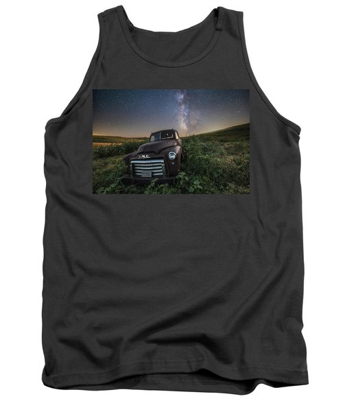 Tank Top featuring the photograph Left To Rust by Aaron J Groen