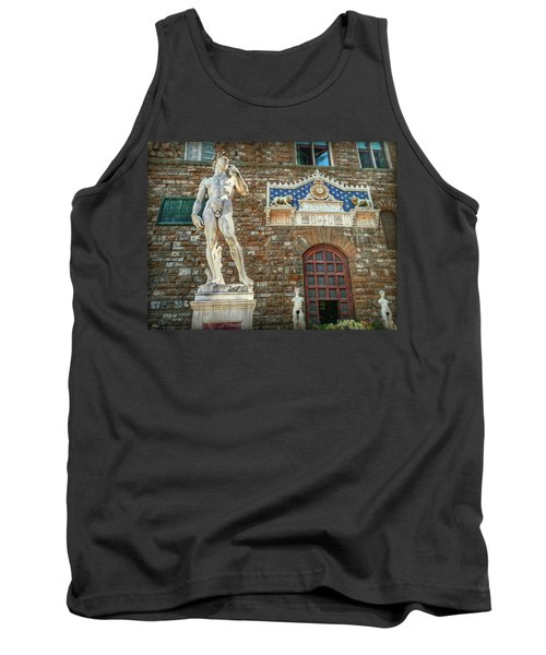 Tank Top featuring the photograph Legal Nudity by Hanny Heim