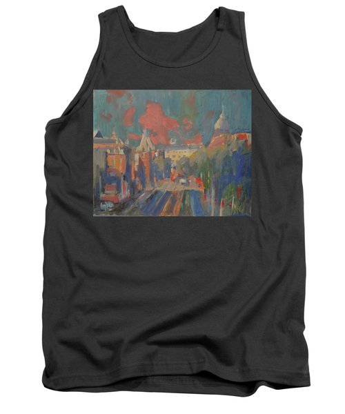 Leidse Plein Red Cloud Tank Top