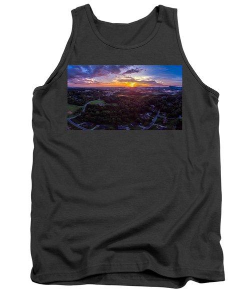 Lenoir North Carolina  Sunset Tank Top
