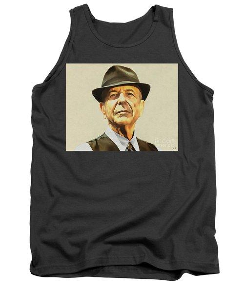 Leonard Cohen Tank Top