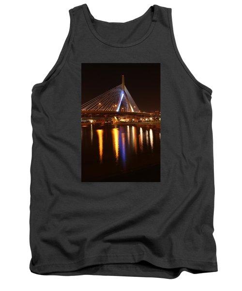 Leonard P. Zakim Bunker Hill Bridge Reflection 2 Tank Top