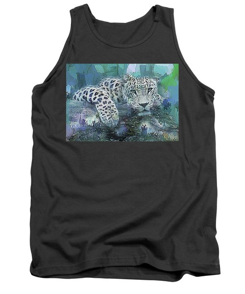 Leopard Abstract Tank Top