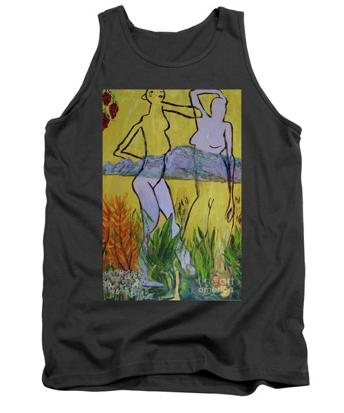 Les Nymphs D'aureille Tank Top by Paul McKey