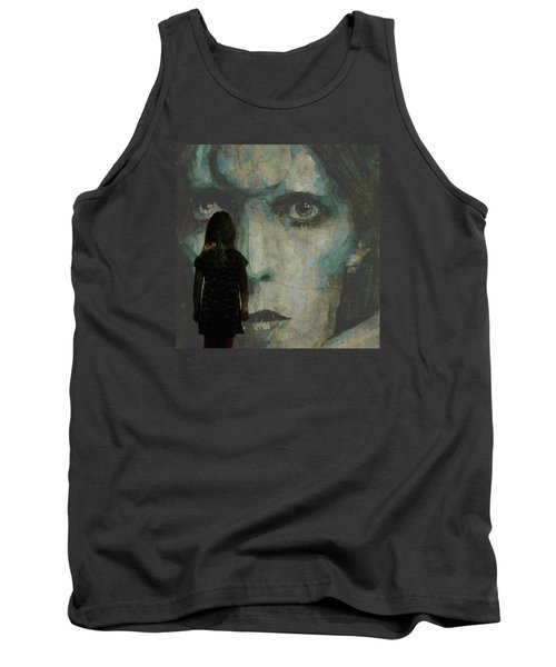 Tank Top featuring the painting Let The Children Lose It Let The Children Use It Let All The Children Boogie by Paul Lovering