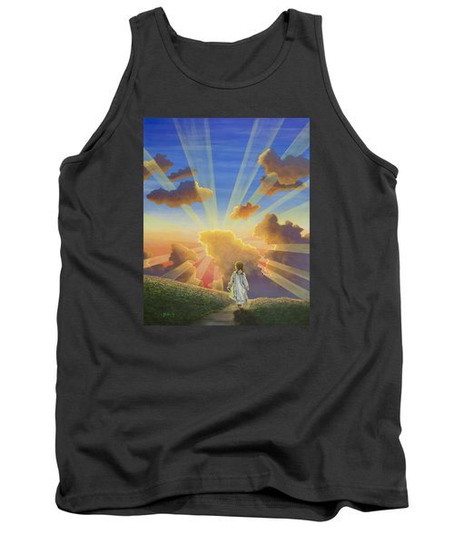 Let The Day Begin Tank Top by Jack Malloch