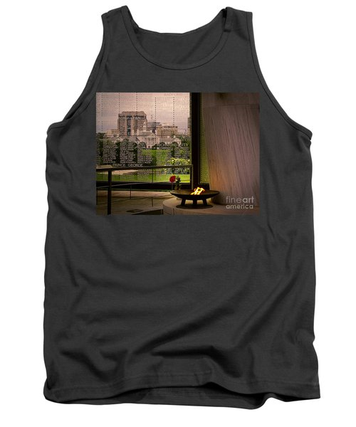 Tank Top featuring the photograph Let The Flame Never Die by Melissa Messick