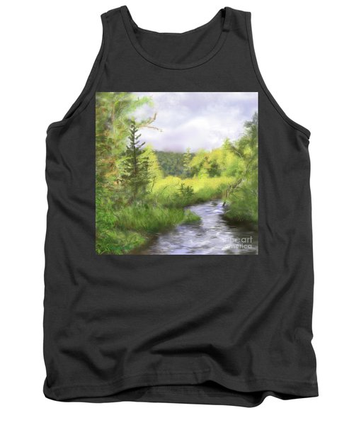 Let The Light Shine In. Tank Top