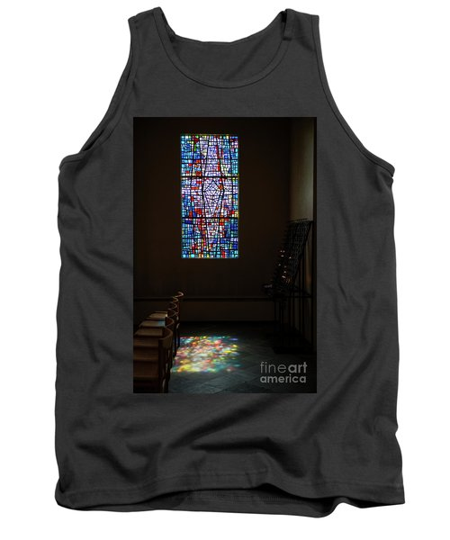 Tank Top featuring the photograph Let There Be Coloured Light... by Nina Stavlund