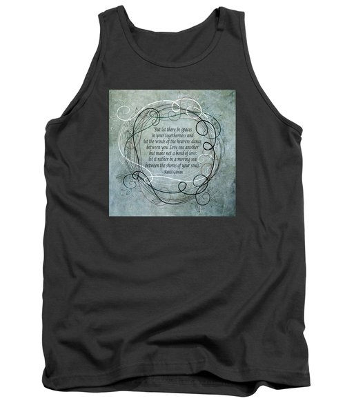 Let There Be Spaces Tank Top by Angelina Vick
