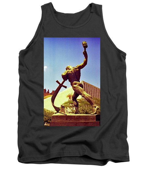 Let Us Beat Our Swords Into Plowshears Tank Top