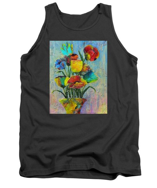 Let Your Individualism Stand Out Tank Top by Terry Honstead
