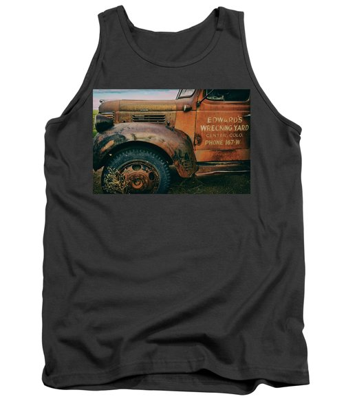 Lettering Tank Top