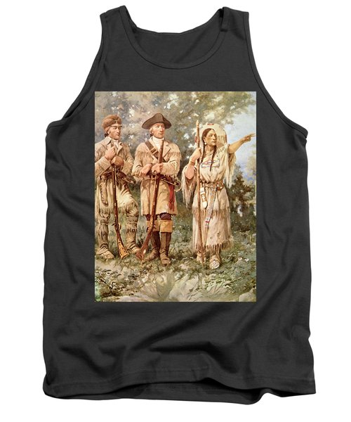 Lewis And Clark With Sacagawea Tank Top