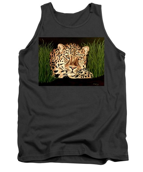 Tank Top featuring the painting Liam by Teresa Wing