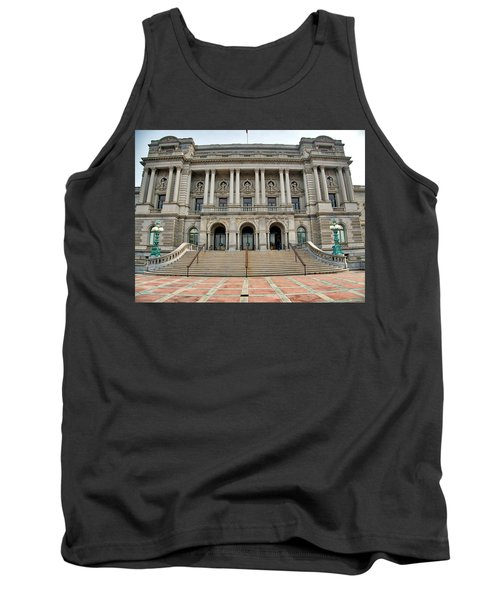 Library Of Congress Tank Top