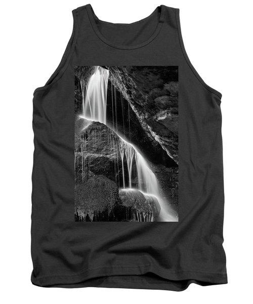 Lichtenhain Waterfall - Bw Version Tank Top