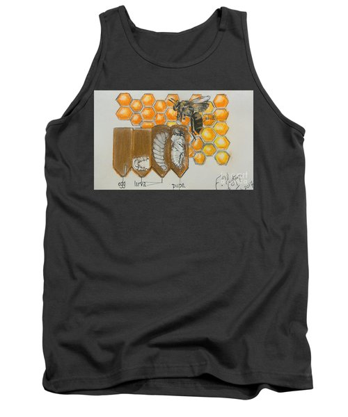 Life Cycle Of A Bee  Tank Top