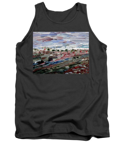 Life Goes On Tank Top by Vadim Levin