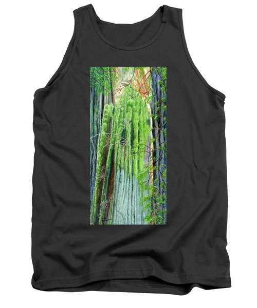Life In A Redwood Forest Tank Top