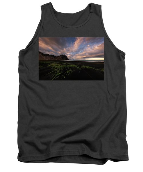 Life In Black And Green Tank Top