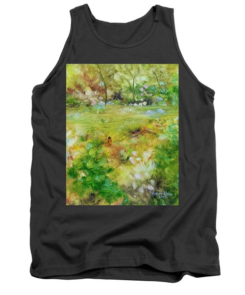Tank Top featuring the painting Life Lessons by Judith Rhue