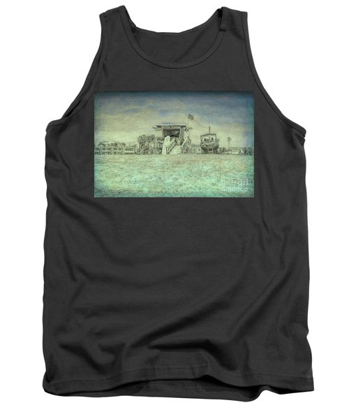 Lifeguard Tower 2 Tank Top