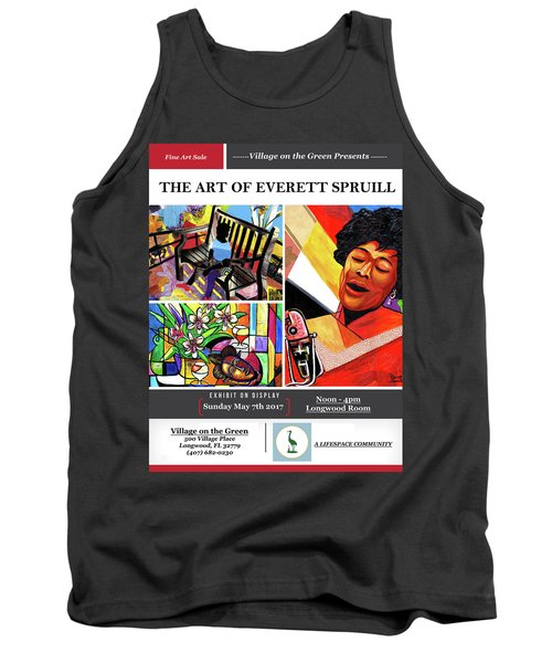 Lifespace Exhibition Poster Tank Top