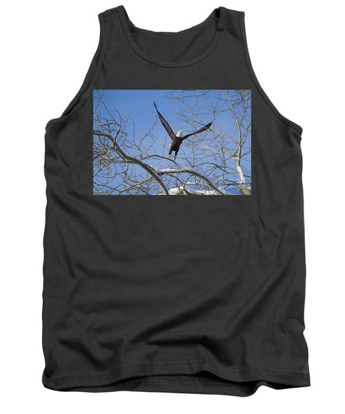 Tank Top featuring the photograph Lift Off by Jim  Hatch