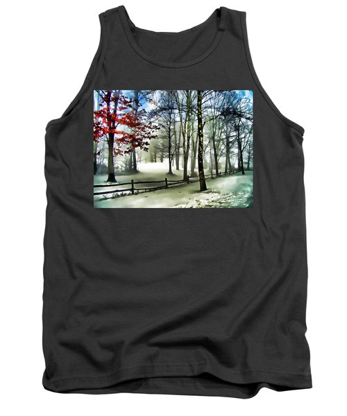 Lifting Fog Tank Top by Betsy Zimmerli