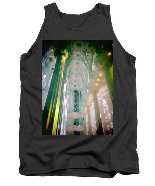 Light Dancing On The Ceiling Tank Top by Christin Brodie