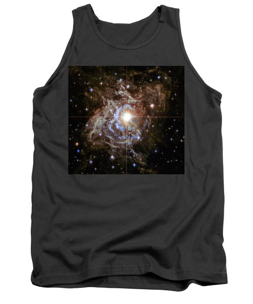Tank Top featuring the photograph Light Echoes by Marco Oliveira