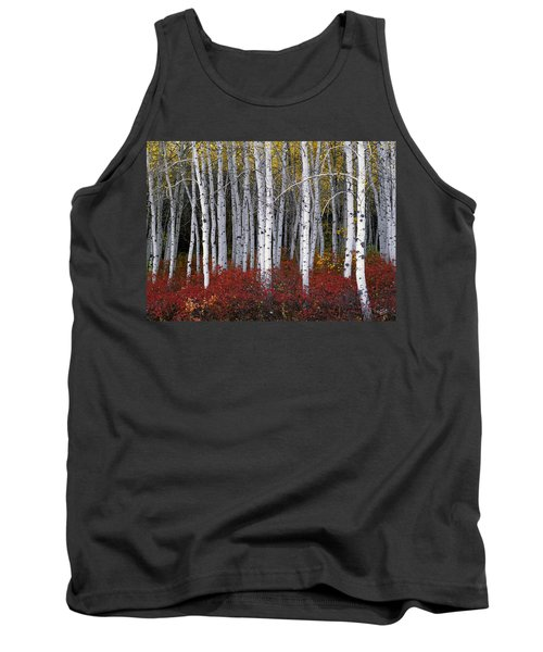 Light In Forest Tank Top